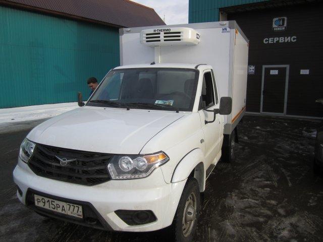 УАЗ КАРГО с рефрижераторной установкой H-THERMO HT-210 (холод/тепло)